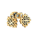 18k Yellow Gold Calatrava Cross Cufflinks