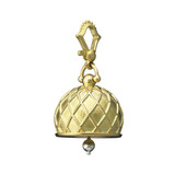 Large 18k Gold Vaulted Meditation Bell