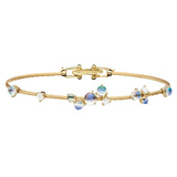 "18k Yellow Gold & Moonstone ""Unity"" Bracelet"