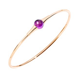 "Amethyst ""M'ama Non M'ama"" Bangle"