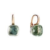 "Prasiolite ""Nudo"" Earrings"