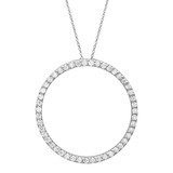 "Diamond ""Circle of Life"" Pendant (~1 ct tw)"