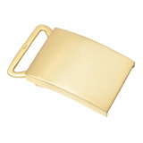 18k Gold Slide Belt Buckle