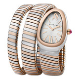 Serpenti Steel & Pink Gold (SP35BSPGD.2T)
