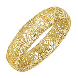 "Paloma Picasso 18k Yellow Gold ""Marrakesh"" Bangle"