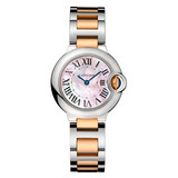 Ballon Bleu 28mm Steel & Rose Gold (W6920034)