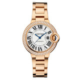 Ballon Bleu 33mm Rose Gold & Diamond (WE902034)
