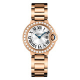 Ballon Bleu 28mm Rose Gold & Diamond (WE9002Z3)