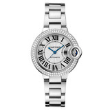 Ballon Bleu 33mm White Gold & Diamond (WE902065)