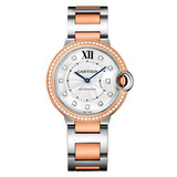 Ballon Bleu 36mm Steel & Rose Gold (WE902078)