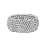 Wide Pavé Diamond Eternity Band (2.35 ct tw)