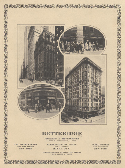 Betteridge NYC stores