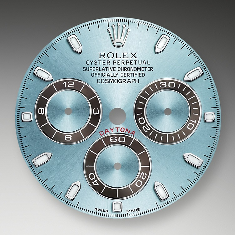 Ice-Blue Dial