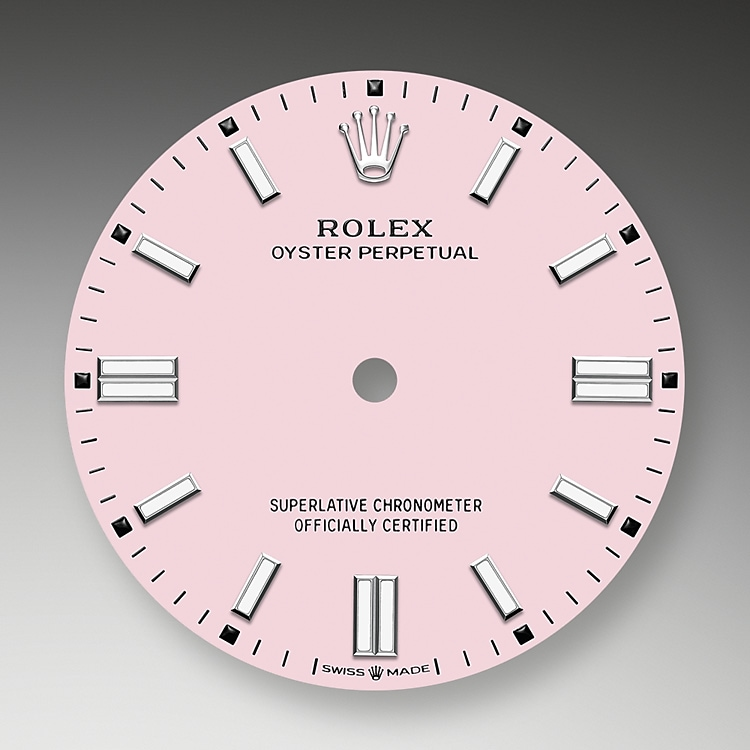 Candy pink dial