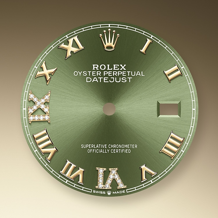 Olive Green Dial
